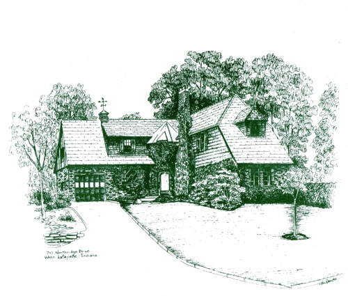 Sketch of 710 Northridge Drive